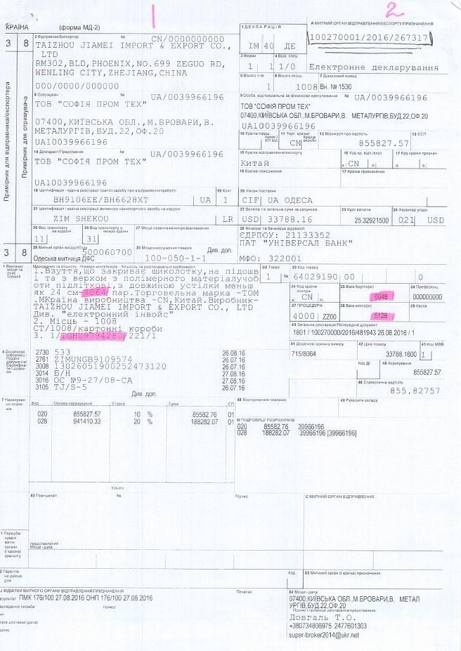 Как топ-чиновник таможни Сергей Тупальский кормился из рук контрабандиста Альперина